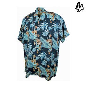 Camicia Hawaiiana Bondi Blue
