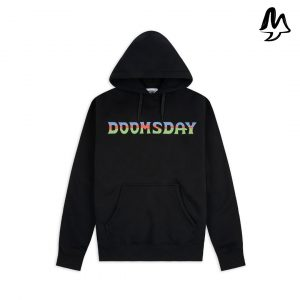 Felpa DOOMSDAY SOCIETY Acid Embroidered