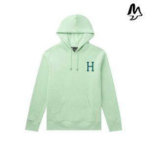 Felpa HUF Planta Hoodie Mint