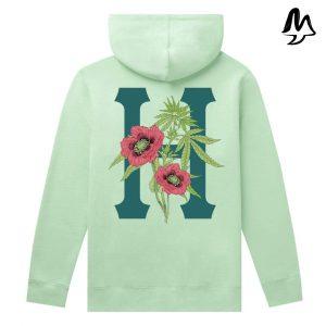 Felpa HUF Planta P/o Hoodie Mint
