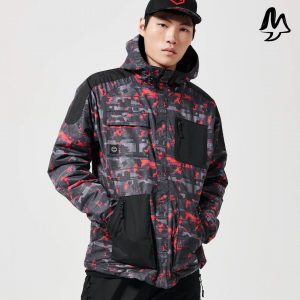 Giacca Dolly Noire Full zip Camo
