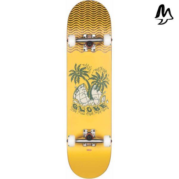 """Skateboard Completo G1 Giallo 7.75"""""""
