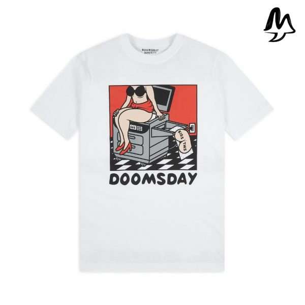 T-Shirt DOOMSDAY SOCIETY Kiss This