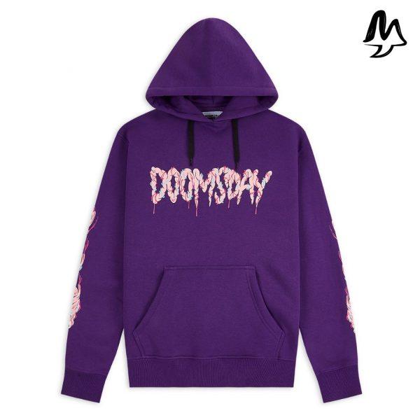 Felpa DOOMSDAY Brain eaters Purple