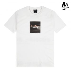 T-Shirt HUF Voyeur Logo WHT