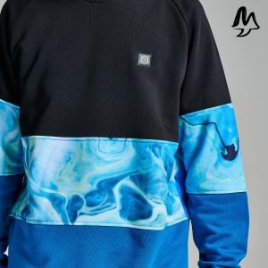 Felpa Dolly Noire Blaster Crewneck Blue