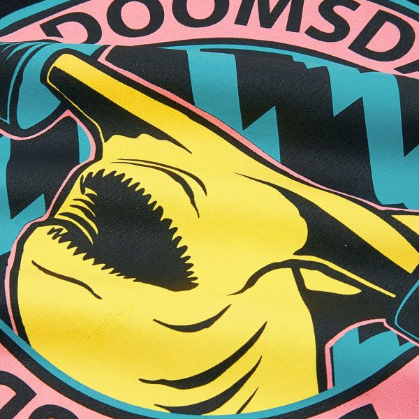 T-Shirt DOOMSDAY SOCIETY Hammered Retro Black