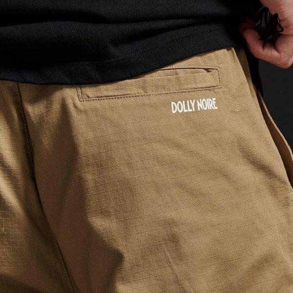 Pantaloni Dolly Noire Logo Jogger Ripstop
