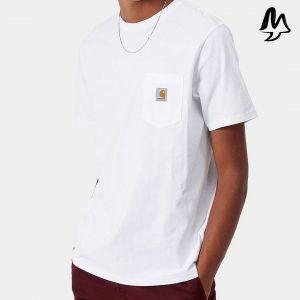 T-Shirt CARHARTT Poket Tee (wht)