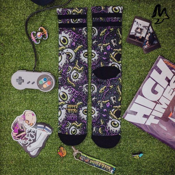 Calze American Socks PSYCO EYEBALLS