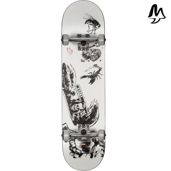 """Skateboard Completo G1 Hard Luck 8"""""""