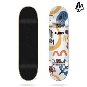 "Skateboard Completo Canggu 7.87""x31.6"" Aloiki"