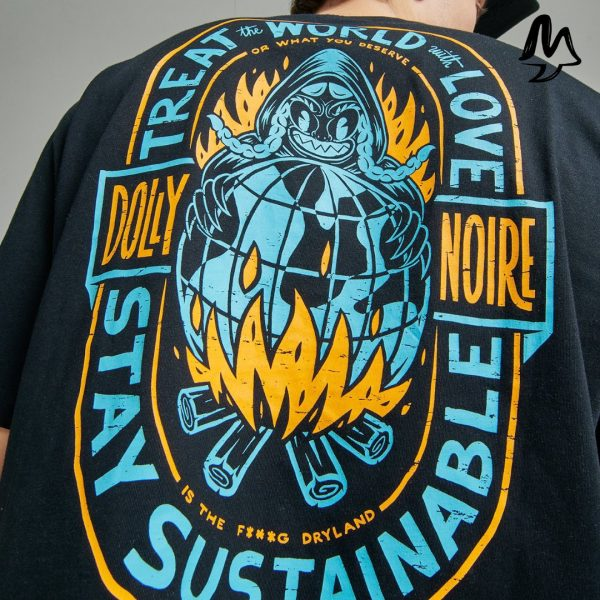 T-shirt Dolly Noire Right Now