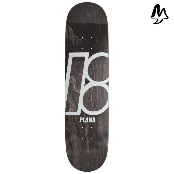 "Tavola Skateboard PLAN B Team Strain 7.75"" x 31.6"""