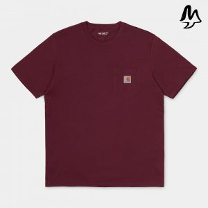T-Shirt CARHARTT Poket Tee (Bordeaux)
