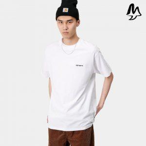 T-Shirt CARHARTT Script (White)