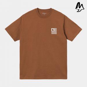 T-Shirt CARHARTT Wavy State Rum