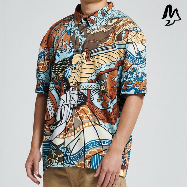Camicia Dolly Noire Kuniyoshi Shirt