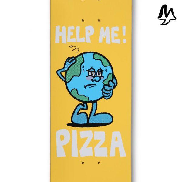 Tavola Pizza Skateboard Climate Deck