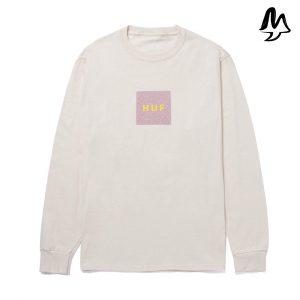 T-shirt manica lunga HUF Quake logo