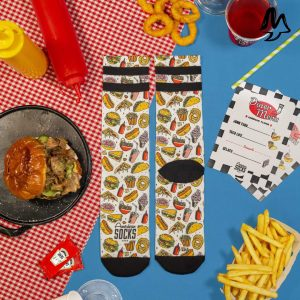 Calze American Socks JUNK FOOD