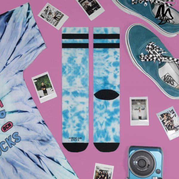 Calze American Socks MIST TIE DYE