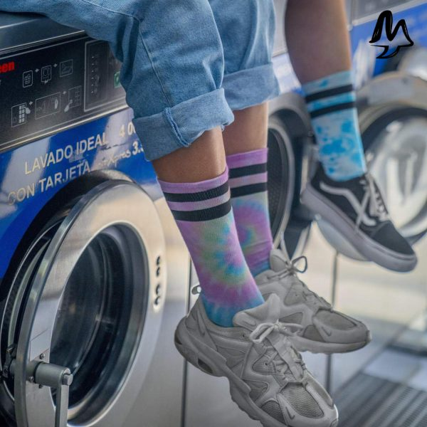 Calze American Socks PASTEL TIE DYE