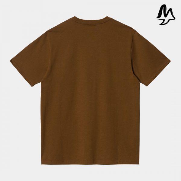 T-Shirt CARHARTT Poket Tee (Tawny)